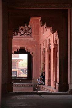 Fatehpur Sikri, Agra district, Uttar Pradesh, India. UNESCO World Heritage Site.
