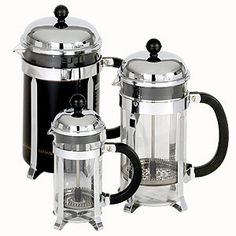 I fell in love with a French Press Coffee... I'll need one of these for my kitchen. <3