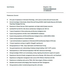 Business Intelligence Specialist Sample Resume Gorgeous Awesome Write Properly Your Accomplishments In College Application .