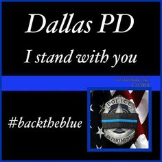 The country stands with you Dallas/ Louisiana. Much respect. God bless you and keep you safe...