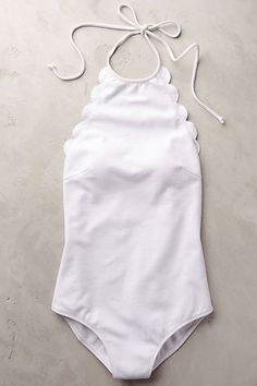 Marysia Scalloped One-Piece #anthropologie #anthrofave