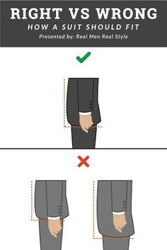 Dress for success: Getting the length right - just about middle of the fingers when loosely extended.