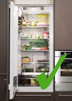 Was, wohin im Kühlschrank? Top Freezer Refrigerator, Bathroom Medicine Cabinet, Kitchen Appliances, Home, Easy Cooking, Helpful Tips, Tips And Tricks, Diy Kitchen Appliances, Home Appliances