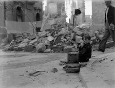 1942 war ridden malta small boy appears to be smoking