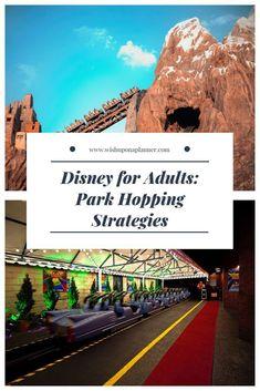 Disney World touring, adult style.
