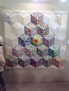 Tokyo International Quilt Show 2012. Traditional Quilt Category by melaniemade, via Flickr