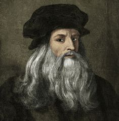 Italian painter Leonardo da Vinci is regarded as one of the greatest artists of the Renaissance and was also a pioneering scientist. This engraving was created in the 19th century from a da Vinci self portrait