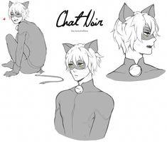 """coccinellu: """" Chat doodles """""""