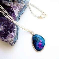 $36 Onyx Agate Necklace now featured on Fab.