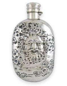 Silver Shop, Bacchus, Silver Accessories, Makers Mark, Whiskey, Monogram, Sterling Silver, Flasks, Essentials