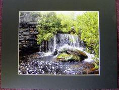WATERFALL photographic Wall Decor an 8 x 10 by PamsFabPhotos $30.00, incl tax