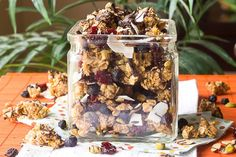 Make this prehistorically pleasurable trail mix with the kids today! Click on the image for instructions.