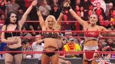 Paige, Mandy Rose, and Sonya Deville picks up the WIN.