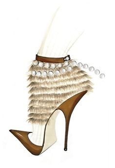Alexandra NeelFootwear Gets Sketchy | StyleCaster