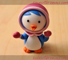 "МК лепка персонажи ""Пингвиненок Пороро""-Gumpaste (fondant, polymer clay) Pororo the Little Penguin characters making tutorials - Страница 2 - Мастер-классы по украшению тортов Cake Decorating Tutorials (How To's) Tortas Paso a Paso"