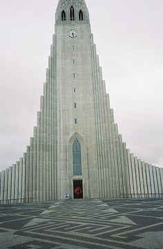 So this is a church, but it makes me think of Barad-dûr... the clock looks like an eye and everything lol!