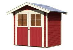 19 mm Gartenhaus in Systembauweise. Einfache Montage durch einzelne Wandbretter.Technische Details zum 19 mm Karibu Gartenhaus Heidenau 2 / Harburg 2: Außenmaß (B x T): 213 x 157 cm Außenmaß Wand (B x T): 209 x 152 cm Innenmaß: 205 x 148 cm Dachstand (B x T): 264 x 190 cm Seitenhöhe: 189 cm Firsthöhe: 230 cm Wandstärke: 19 mm umbauter Raum: 6,65 cbm Dachfläche: 5,2 qm Dachneigung: 20° Schindelbedarf: 3 Pakete (optionales Zubehör) Dachüberstand vorne: 23,5 cm Dachüberstand Seite: 28,0 cm…