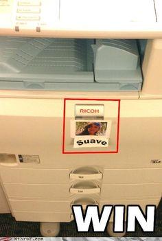 copy machine meme | The office copy machine just got sexier - Cheezburger