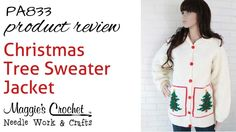 Christmas Tree Sweater Jacket Product Review PA833