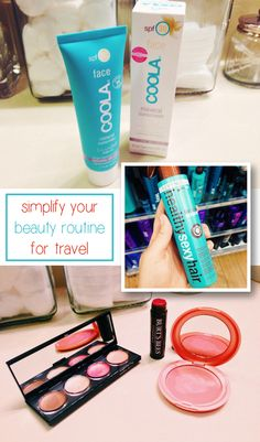 Travel light by simplifying your beauty routine. These essentials should be all you need to stay looking fresh and beautiful on your trip! http://www.ehow.com/ehow-money/blog/how-to-simplify-your-beauty-routine-for-travel/?utm_source=pinterest.com&utm_medium=referral&utm_content=blog&utm_campaign=fanpage