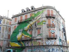 Lisbona. Avenida Fontes P. de Melo. Autore: Ericailcane.