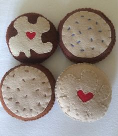 Felt Cookies Pretend Play