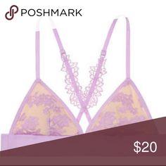 Victoria Secret PINK bralette #79 Victoria Secret PINK bralette #79  floral lace bra PINK Victoria's Secret Intimates & Sleepwear Bras