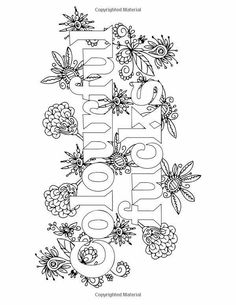 Swear Word Coloring Book Quote Pages Printable Sheets Adult Books Papercutting Doodle Art