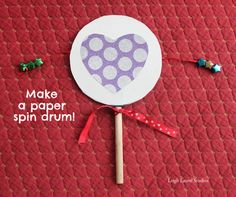 Paper spin drum
