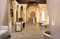 Spa Riad Fez, Riad Fès, Morocco © RIAD FES. http://www.travelplusstyle.com/hotels/riad-fes-fez#