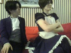 Cim and Eva as Eren and Levi <3<<<Looove Vandetta Cosplay!!!