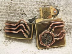 Awesome Steampunk Zippo. Going to be getting one for myself now.