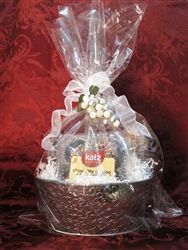 Gluten free gift baskets deal of the month celebrating celiac gluten free gift basket basket of muffins and cupcakes negle