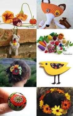 Autumn palette by Lana Milana on Etsy--Pinned with TreasuryPin.com