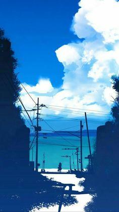 Beauty in blues