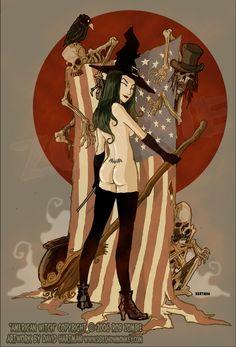 AMERICAN WITCH 1 by Hartman by sideshowmonkey on deviantART