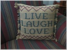 pillow, sweedish crochet..
