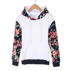 b8362ede8eb I really think that this hoodie is great for the spring time Floral  Hoodies