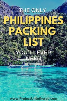 Need a Philippines packing list? After a month traveling the Philippines, there's many items we wish we would (and would NOT) have packed. This Philippines packing guide is full of our best packing tips—from what to wear, to how many outfits to pack, to other must-have travel essentials. Plus a FREE downloadable checklist to make packing for Philippines a breeze. Click for access!  #philippines #asia #philippinestraveltips #philippinespackinglist #packinglist #packingadvice #asiatraveltips