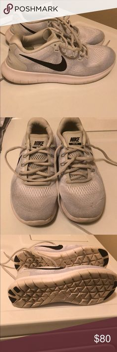 482d25c7e578 Nike Shoes White and grey Less than a year old Very good condition.