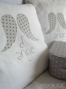 coussin aile d ange