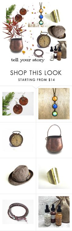 """""""Tell Your Story"""" by weelambievintage ❤ liked on Polyvore featuring Pendleton, Tim Holtz, vintage and Fall"""