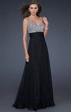 Shop for beaded long formal dresses at Simply Dresses. La Femme designer prom  dresses for bridesmaids 7a6d5e3845f7