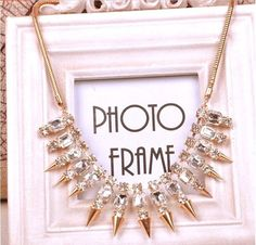 Luxe Spiked Collar Necklace Rs.850