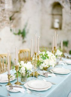 #tablescapes  Photography: KT Merry - ktmerry.com  Read More: http://www.stylemepretty.com/2014/06/05/destination-wedding-inspiration-on-the-amalfi-coast/
