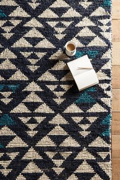 Woven Arrowhead Rug - anthropologie.com: