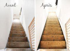 Escalier avant_apres