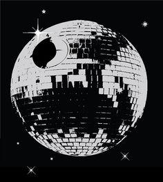 Disco Death Star.