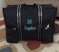 My nursing bag/Mobile office! Thirty one utility tote