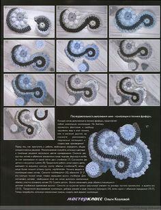 Winter Ireland diagram - must Collection Oh - florid teaser - florid teaser ☆ crocheted blog
